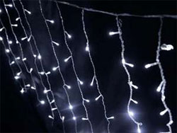 "60"" x  35"" Fairy Lights  Princess Braids  - White LED"