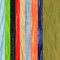 Premium Crinkle Taffeta Fabric By the yard 50""