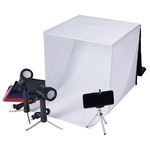 "16"" Square Table Top Photo Photography Studio Lighting Light Shooting Tent Box Kit"