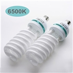 105 Watt Fluorescent Full Spectrum 6500K Daylight Balanced Light Bulb For Photography