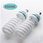 105 Watt Fluorescent Full Spectrum 5500K Daylight Balanced Light Bulb For Photography