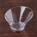 20 Pack - Clear Modern Round 7oz Disposable Dessert Bowl