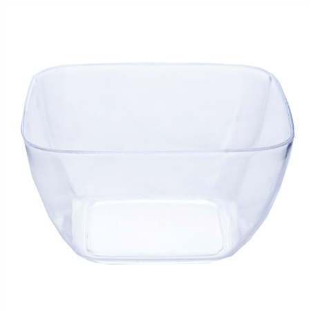 18 Pack - Clear 2oz Mini Disposable Dessert Bowls - Chambury Plastics