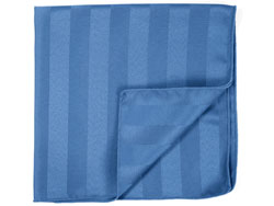 "10"" x 10"" Poly Stripe Napkins - 1dz/packet"