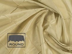"108"" x 156"" Oval Premium Pintuck Tablecloth"