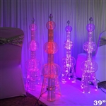 "39"" 100 LED Oriental Pearl Tower Party Columns - 1PCS"