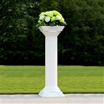 Elite Roman Wedding Column Set of 4 with LED Lights