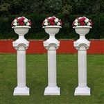 Roman Decorative Wedding Column Set
