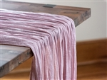 Blush Premium Cheesecloth Fabric by the Foot