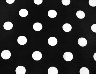 Premium Polka Dot Fitted Tablecloth 6 FT Rectangular W/Pleated Corners