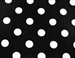 "Premium Polka Dot 84"" Round Tablecloth"