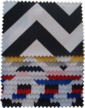 "Premium Chevron Swatch 4""x4"""