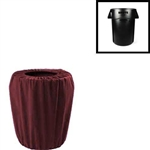 Premium Polyester Garbage Pail Cover (Small 32 Gallon)