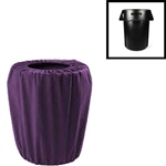 Premium Polyester Garbage Pail Cover (Small 44 Gallon)