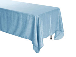 "60"" x 120"" Rectangle Crinkle Taffeta Tablecloth"