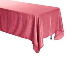 "72"" x 120"" Rectangle Crinkle Taffeta Tablecloth"