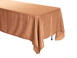 "72"" x 144"" Rectangle Crinkle Taffeta Tablecloth"