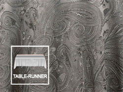 "Rental 12"" X 108"" Paisley Lace Table Runner"