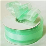 "10 Yards 1.5"" DIY Mint Satin Center Ribbon"