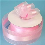 "10 Yards 1.5"" DIY Pink Satin Center Ribbon"