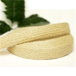 "10 Yards 1"" DIY Ivory Picturesque Woven Rustic Burlap Ribbon"