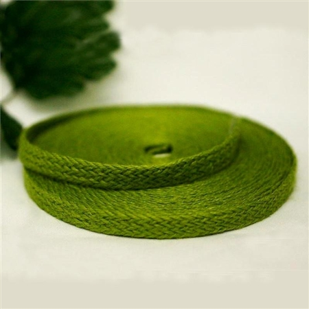 "10 Yards 1/2"" DIY Green Picturesque Woven Rustic Burlap Ribbon"