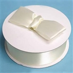 "50 Yards 1.5"" DIY Ivory Satin Ribbon"