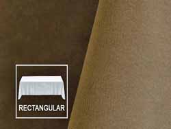 "Rental 108"" x 156"" Velvet Rectangular Tablecloth - Rounded Corners"