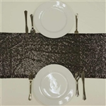 Duchess Sequin Table Runners Black