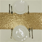 Duchess Sequin Table Runners – Gold