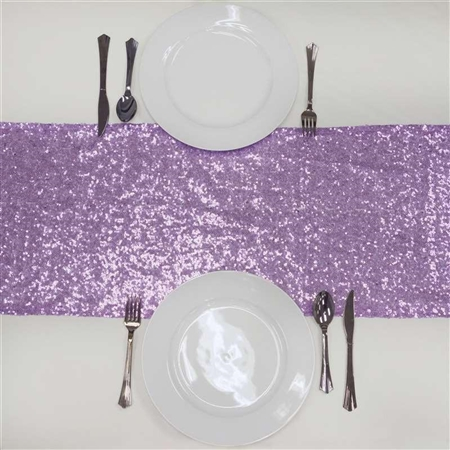 Duchess Sequin Table Runners – Lavender