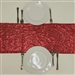 Duchess Sequin Table Runners – Red
