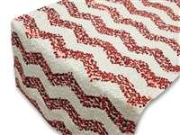 Chevron Sequin Table Runners – Red