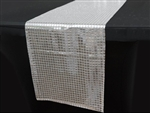 Mirror Foil Table Runner - Silver