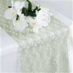 Floral Lace Table Runner - Reseda
