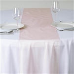 Econoline Organza Table Runner - Blush