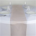 Econoline Organza Table Runner - Peach