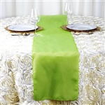 Apple Green Polyester Runner Table Top Wedding Catering Party Decorations