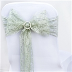 "5 PCS Reseda Lace Chair Sashes Tie Bows - 6""x108"""