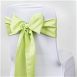 Chair Sash (Polyester) - Apple Green