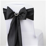 Chair Sash (Polyester) - Black