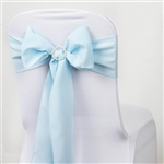 Chair Sash (Polyester) - Light Blue