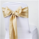 Chair Sash (Polyester) - Champagne