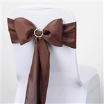 Chair Sash (Polyester) - Chocolate
