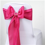 Chair Sash (Polyester) - Fushia
