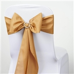 Chair Sash (Polyester) - Antique Gold