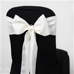 Chair Sash (Polyester) - Ivory