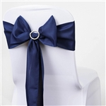 Chair Sash (Polyester) - Navy Blue