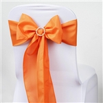 Chair Sash (Polyester) - Orange