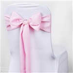 Chair Sash (Polyester) - Pink